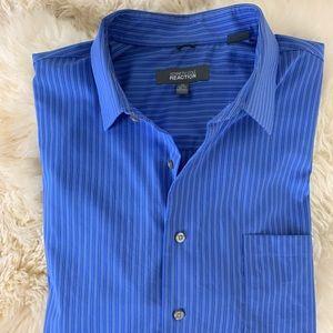 Kenneth Cole REACTION Non-Iron Dress Shirt XL